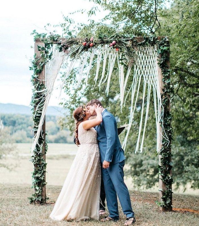 Wedding Altar Garland: 1001 + Idées Géniales De Décoration Champêtre Pour Votre