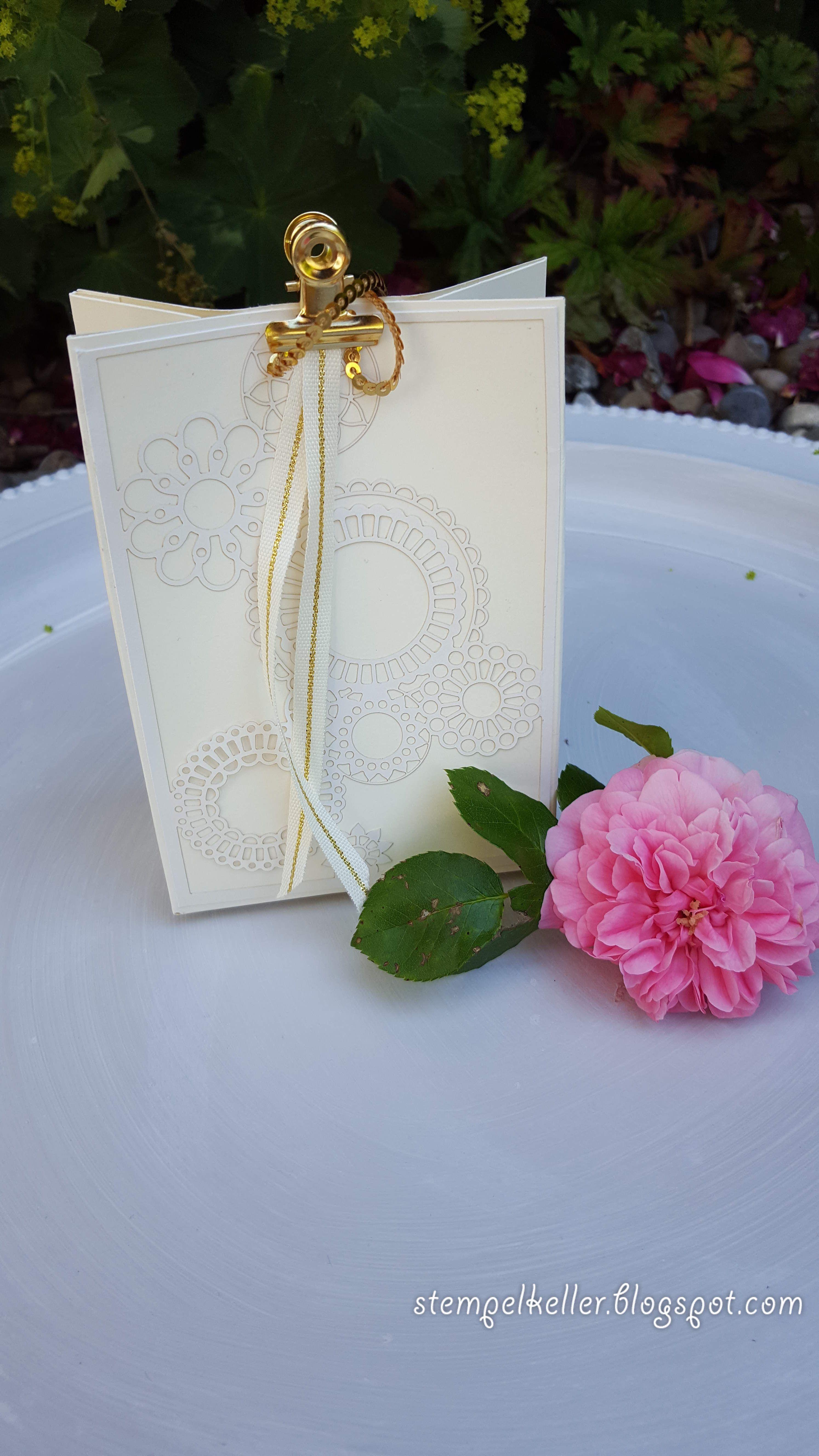 Geschenktüte punchboard stempelkeller waltraud