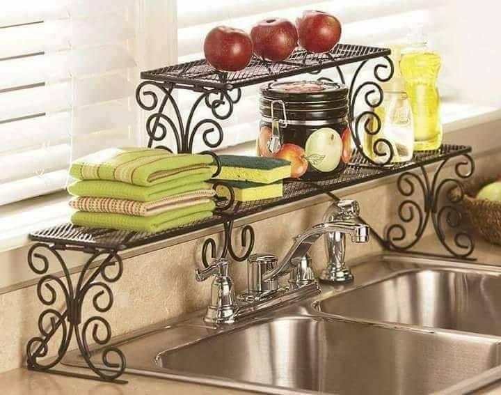 repisas para el fregadero | Decoración de cocina, Muebles de ...