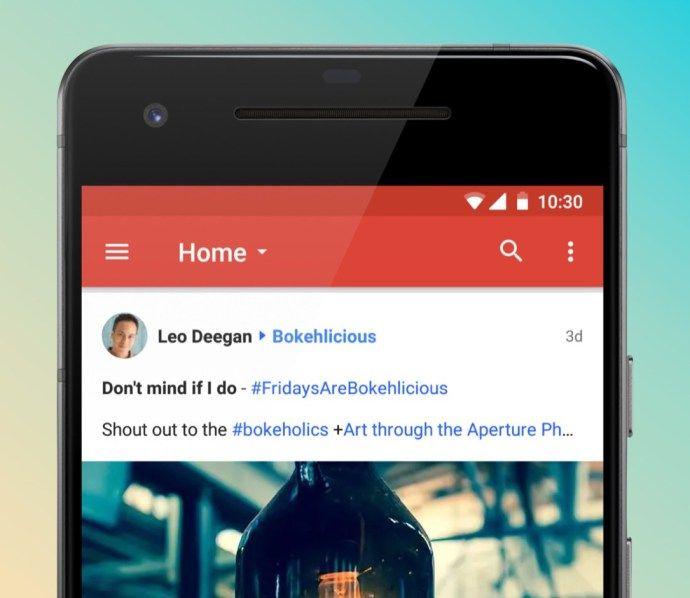 Google für Android bekommt eine komplett neue App spendiert Blog - wandbilder für küche