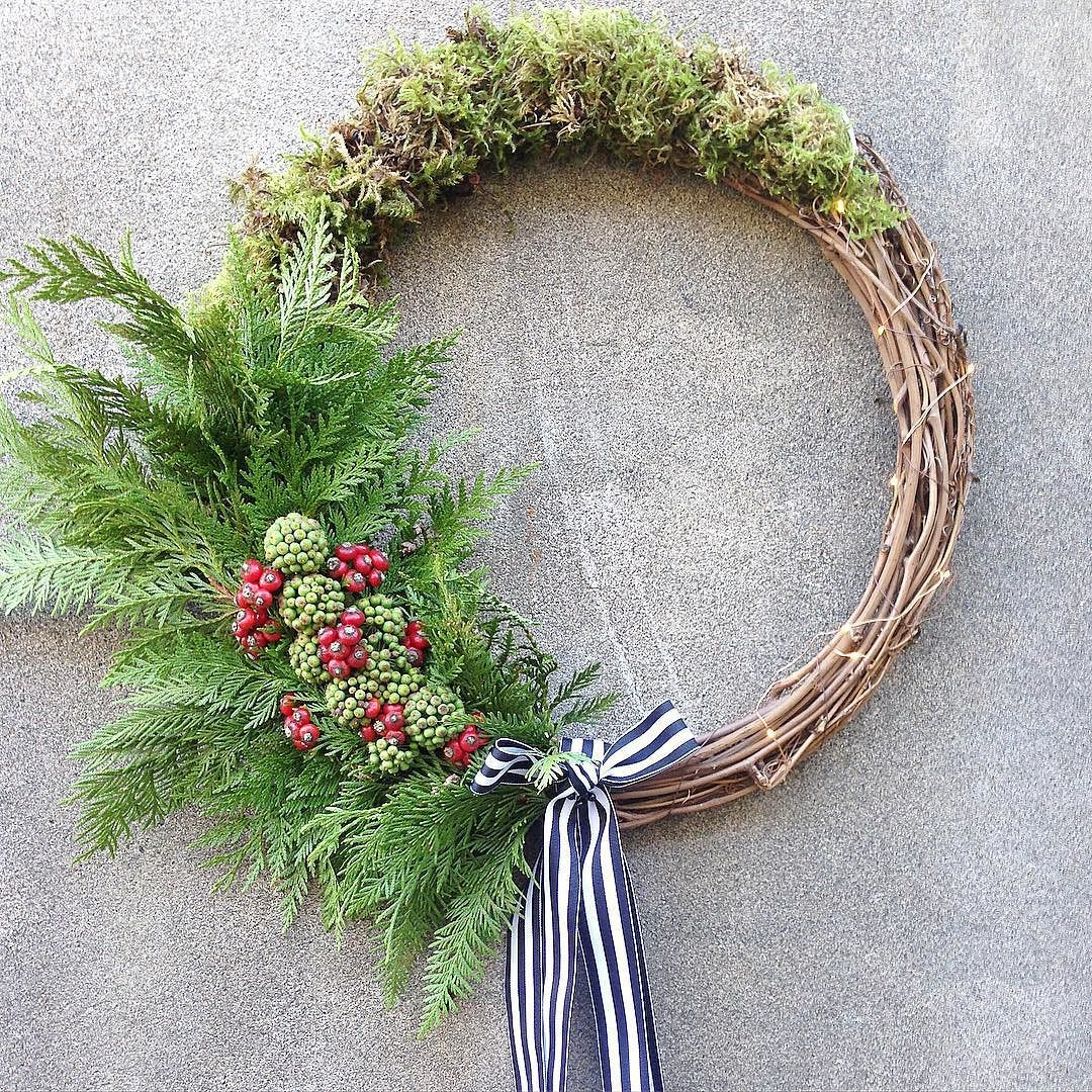 great vancouver florist Wreath making is in full force at