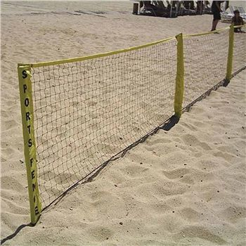 Park Sun Sports Sport Fence Multi Sport Ball Stop 3 X 24 At Volleyball Com Outdoor Play Spaces Park Fence
