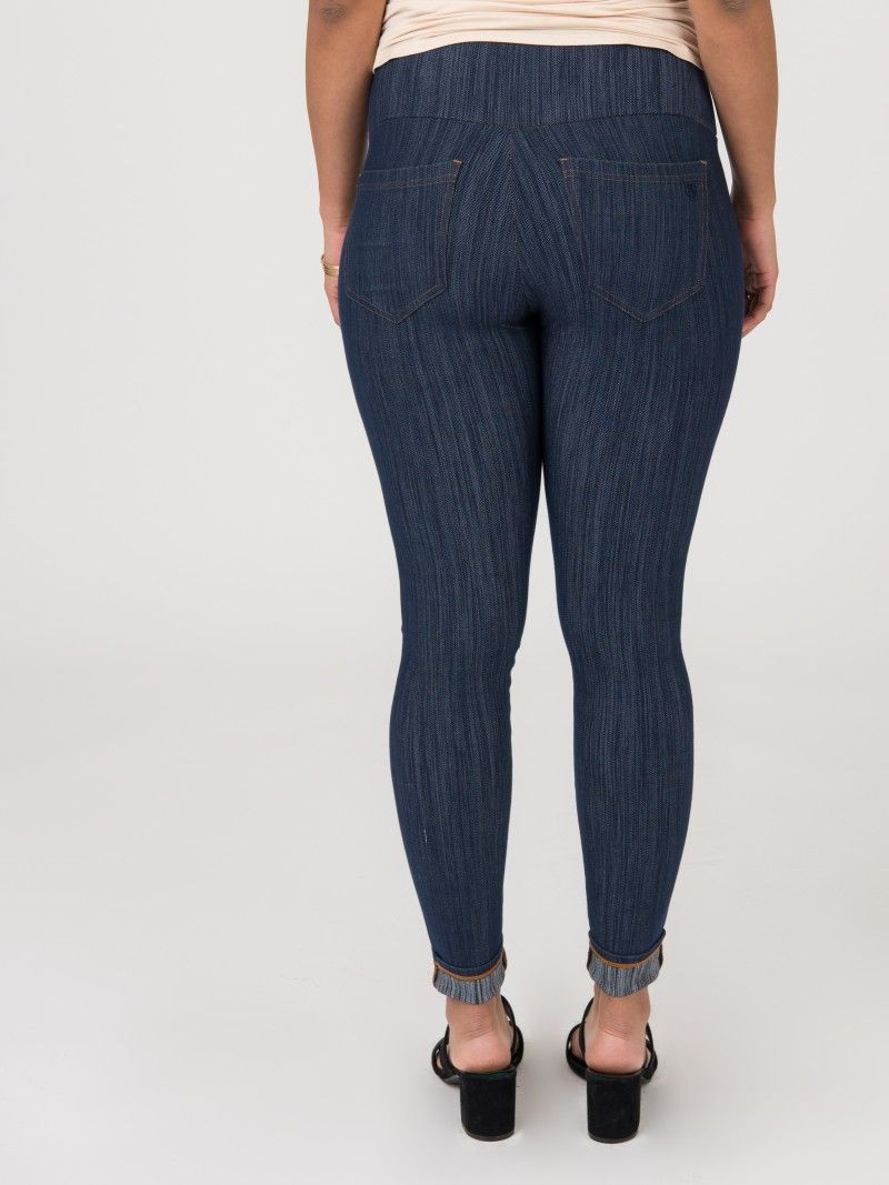 1f7bfeeba6738 Knit Jeggings Dark Denim, now with back pockets by Agnes and Dora ...