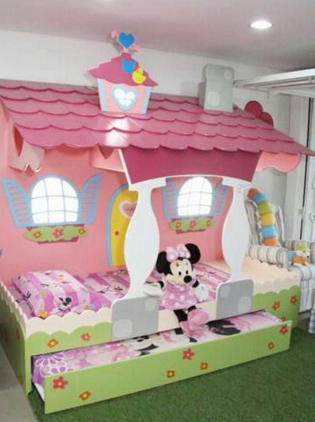 15 Deco Chambre Minnie  Minnie mouse bedroom decor, Toddler girl