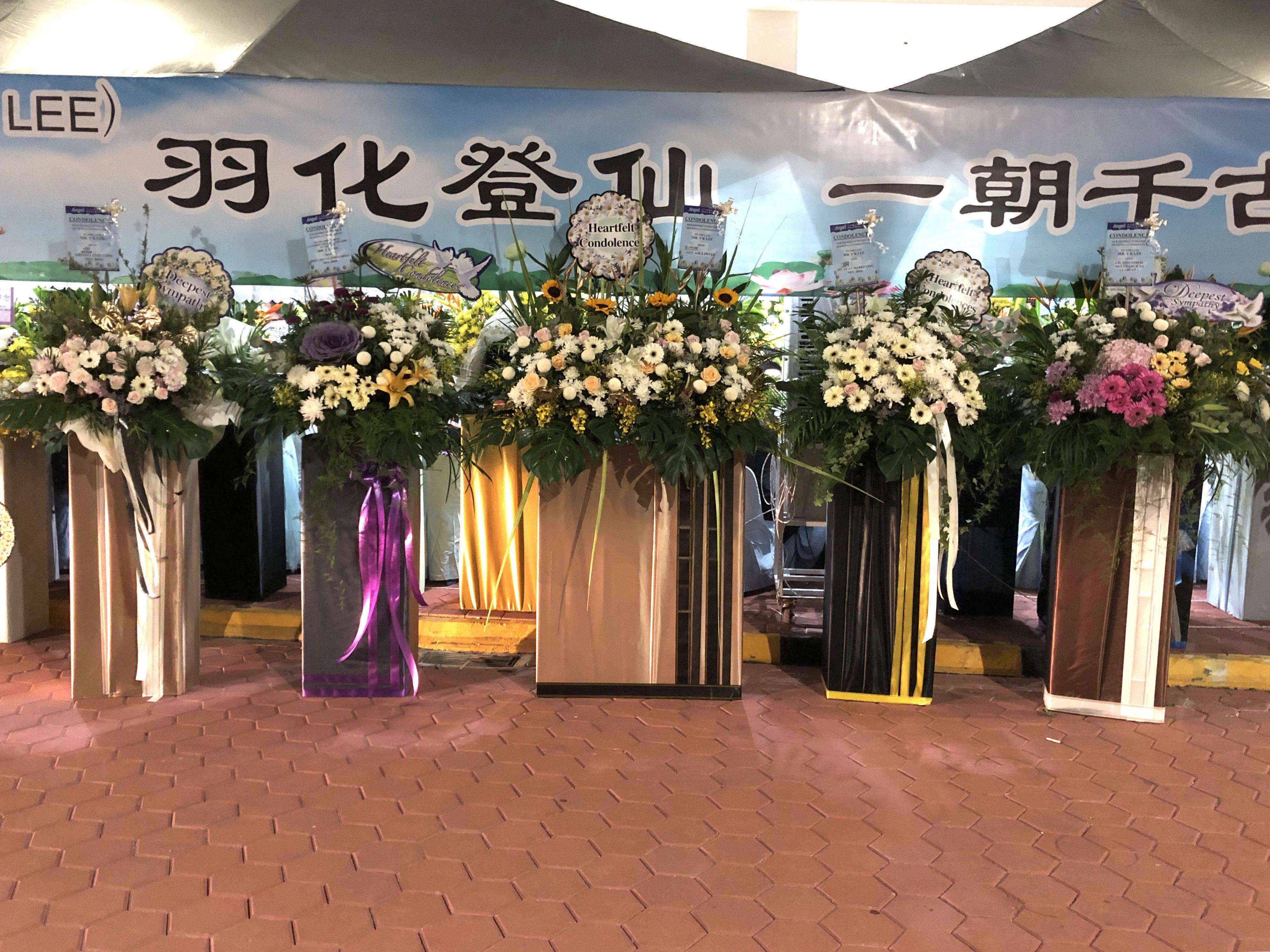 Openingflower Condolencesflower 手花 情人节花束 毕业花束 气球花束 结婚手花 韩式花束 热气球花盒 开张花 花圈 丧事花圈 Malaysia Johor Bahru Jbflor Table Decorations