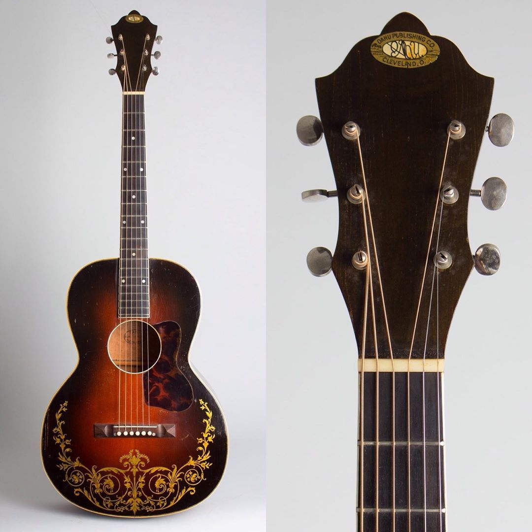 Just Arrived A C 1937 Oahu Jumbo Model 71k Conversion Flat Top Acoustic Guitar Made By Kay Please Click On The Link Vintage Guitars Acoustic Guitar Guitar