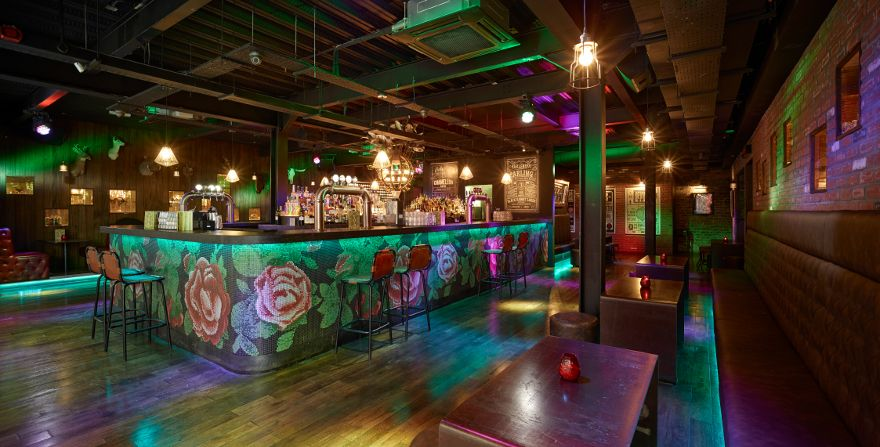 Black Rabbit Shot Company Is An Unusual Nightclub In Liverpool Designed By Snook Architects It Aspires To Take Visitors On A Journey Of World Discovery