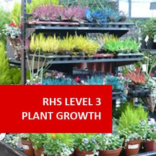 RHS Level 3 Diploma Certificate Principles of Plant Growth ...