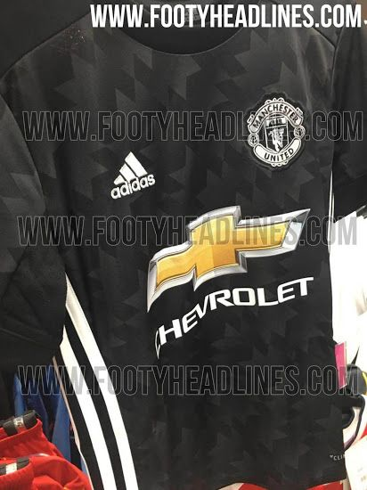 64701e00f Exclusive  6 New Pictures - Manchester United 17-18 Away Kit Leaked - Footy  Headlines