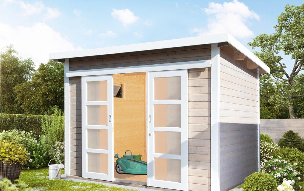 Gartenhaus Flachdach 300x300 Cm Holz Haus Bausatz Mit Schiebetur Kippfenster Vom Gartenhaus Fachhandler Die 10 Grosste Roof Styles Outdoor Structures Skylight