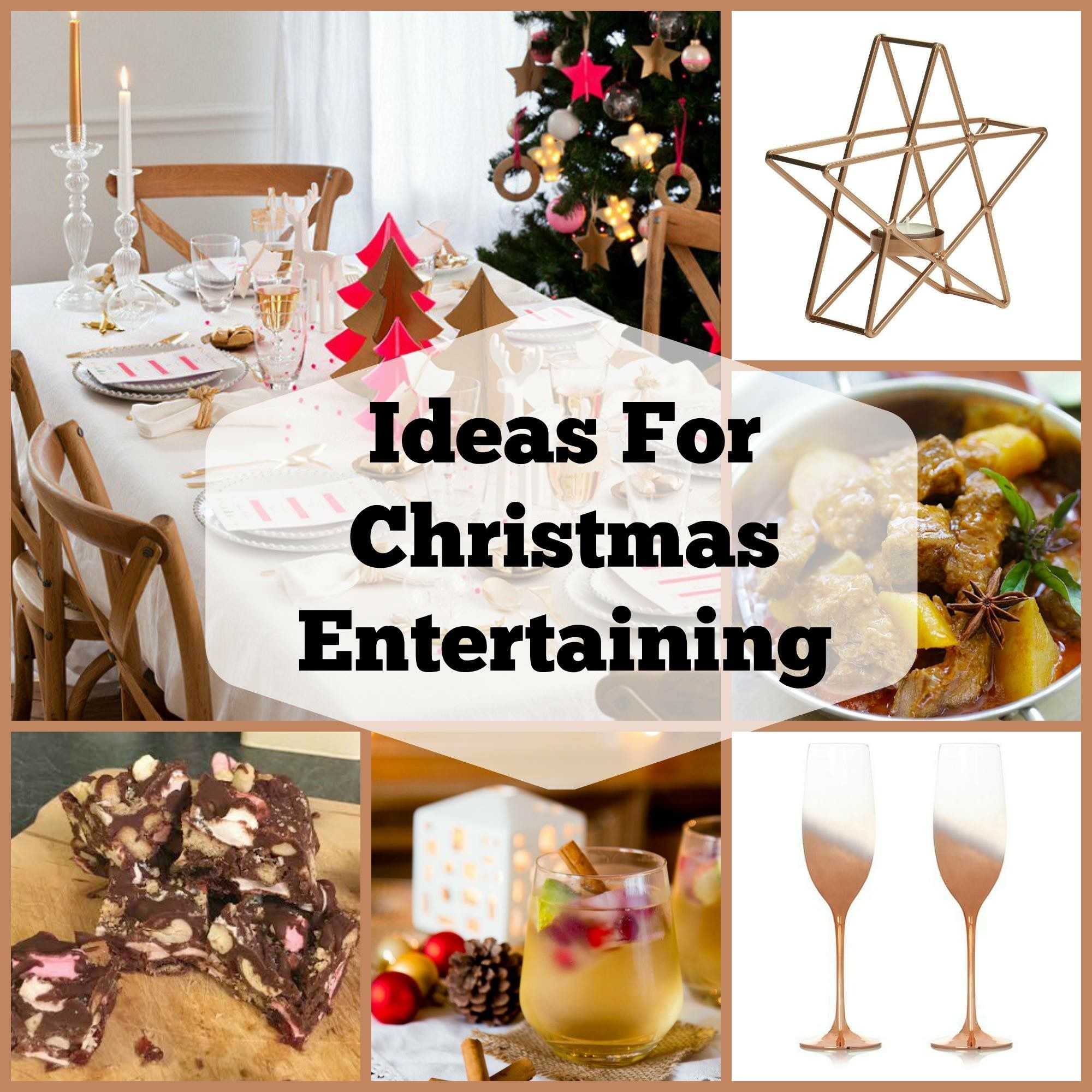 tips & ideas for christmas entertaining - recipes, homemade gifts