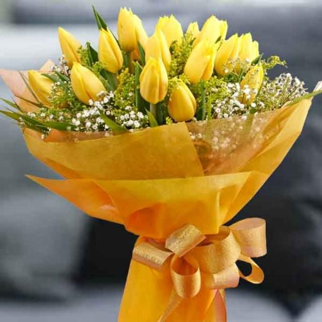 Inspiritoo Com Yellow Tulips Online Flower Delivery Fresh Flower Delivery