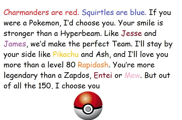 Pin By Castor Shuck On Fits Me Perfectly D Pokemon Quotes Pokemon Poem Jesse And James
