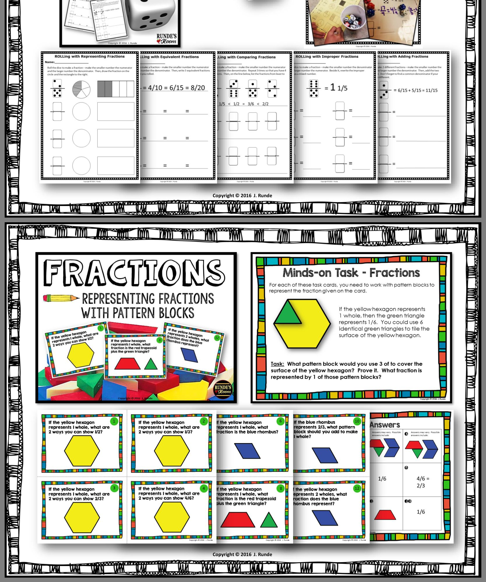 Pin By Patty Sullivan On Math Fractions