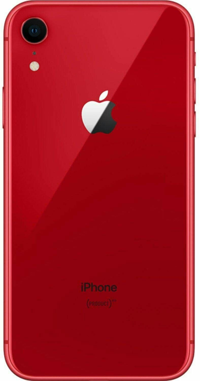 Apple iphone xr 64gb red fully unlocked renewed
