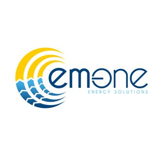 Emone Energy Solutions logo by ANerdsWorld com  EMONE is a