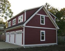 Best Custom 32X22 Reverse Gable Garage With Shed Dormers Shed 640 x 480