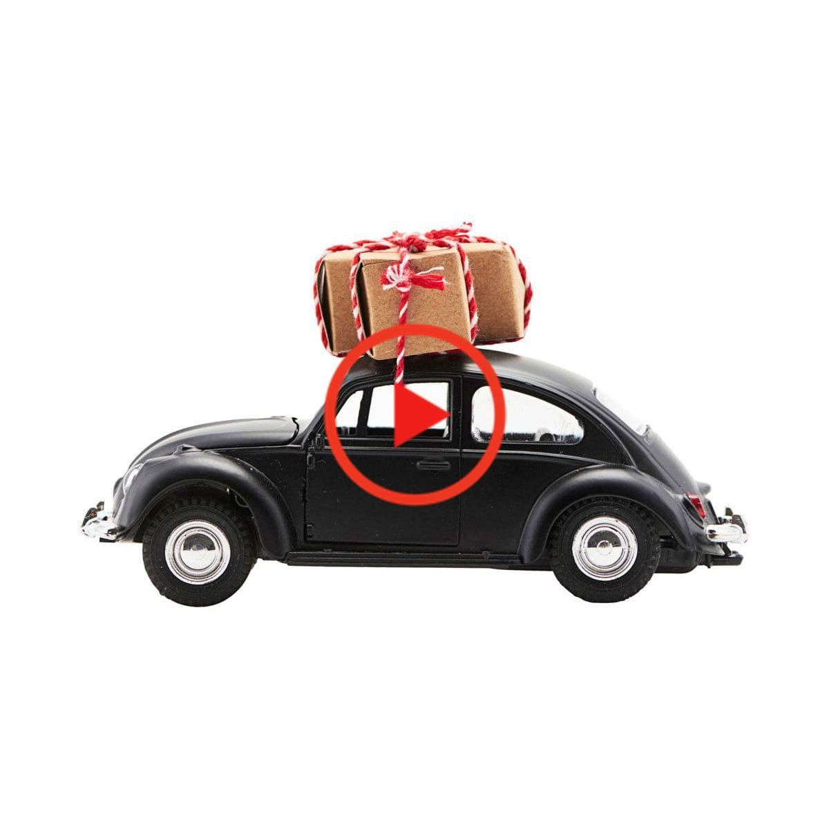 House Doctor Xmas Auto Decoratie Auto S 12 5 Cm Zwart Toy Car Car Toys