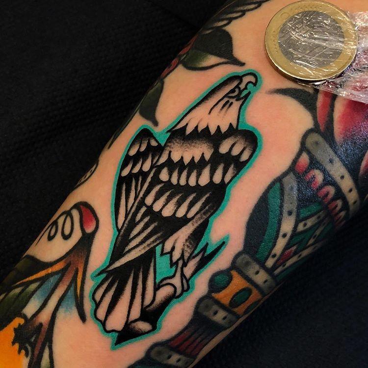 Classic Tattoo Berlin: Just Liner/no Mag. Done In Berlin. ...#samuelebriganti