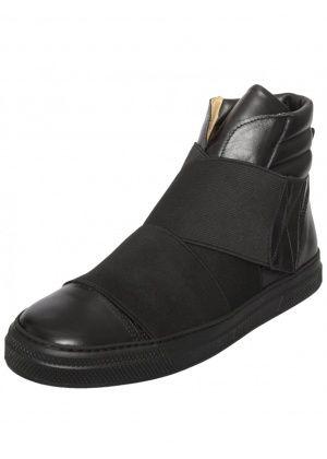 1575b3aa54ed JEAN PAUL GAULTIER GABRIEL BASKET STRAPPED BOOT BLACK £385  sneakers   trainers  gaultier