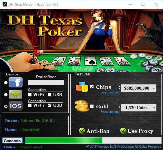 DH Texas Poker Hack Tool v4.9 (8) | all4hacks.com | Poker