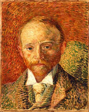 The distinct strokes of Van Gogh.  (National Gallery of Scotland)