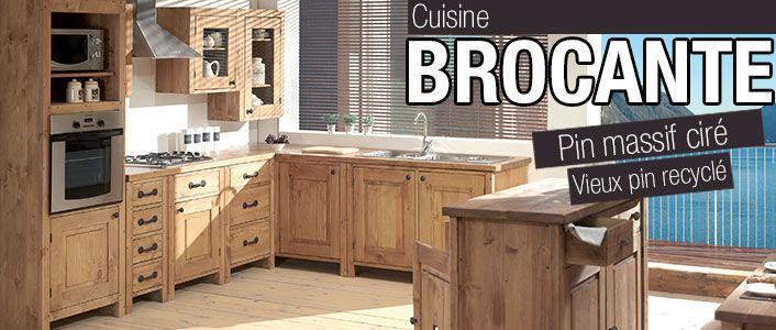 Cuisine brocante cuisine pinterest meuble cuisine cuisine bois et meuble cuisine bois - Cuisine brocante cocktail scandinave ...