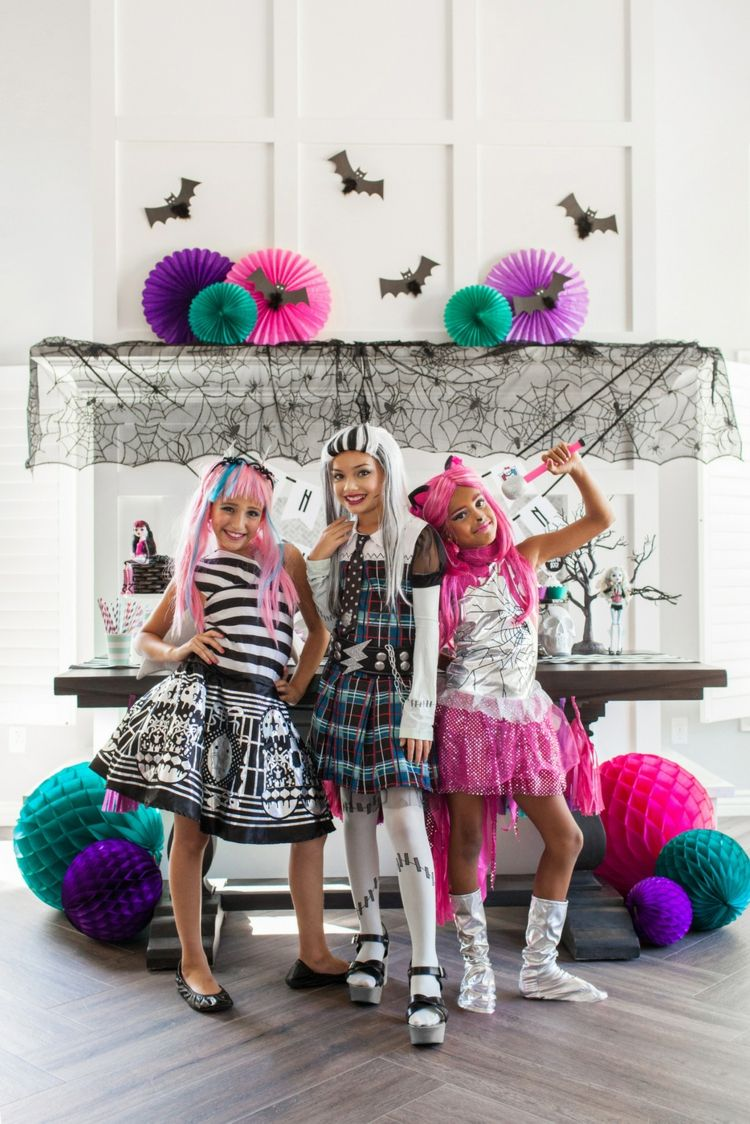 Monster High Kostüm Für Kind Selber Machen Ideen Rund Um 7 Der