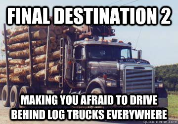 Image result for final destination log