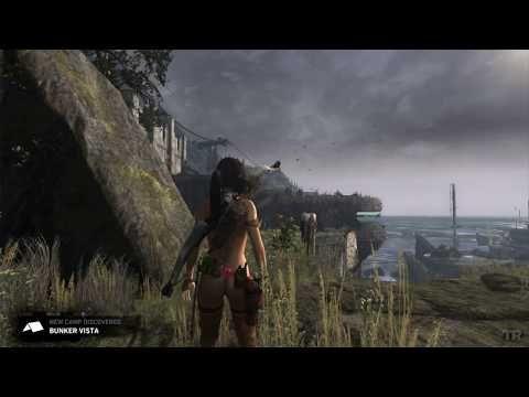 Tomb Raider 2013 Nude mod BLUE BLOOD v 3.9 pt 5 - YouTube