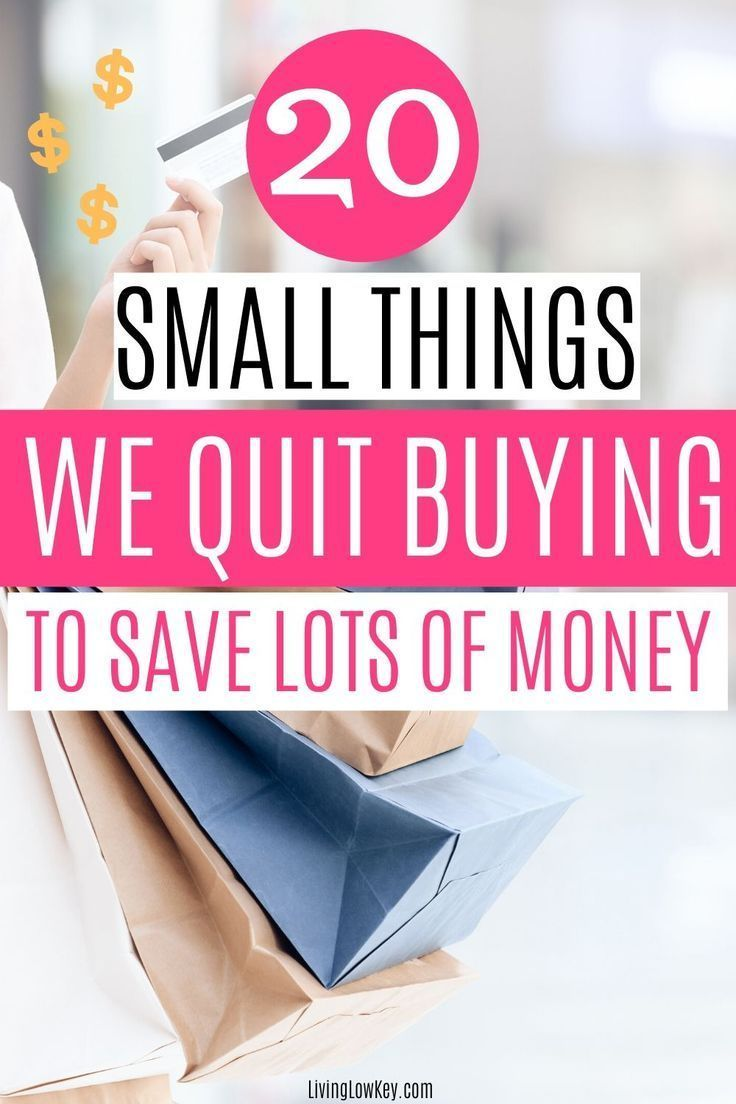 20 Things I Simply Stopped Buying To Save Money