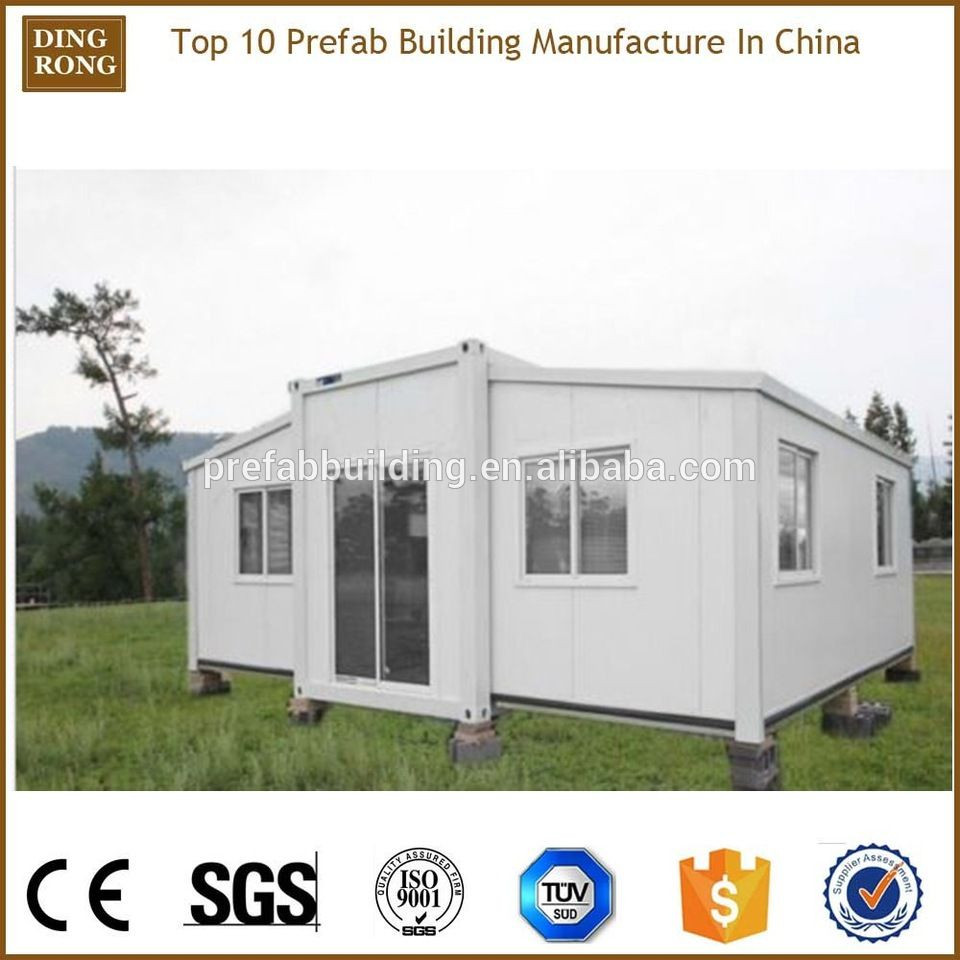 20ft light steel frame expandable container fold out house | alibaba ...