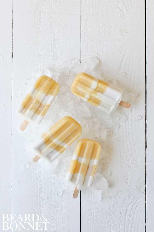 Pineapple & Ginger Coconut Cream Popsicles (Gluten Free & Vegan) | Beard + Bonnet