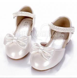e28b6b4c79017 Nœud papillon perle chaussures de mariée pour fille chaussure pas cher    ROBE208722  - robedumariage.com