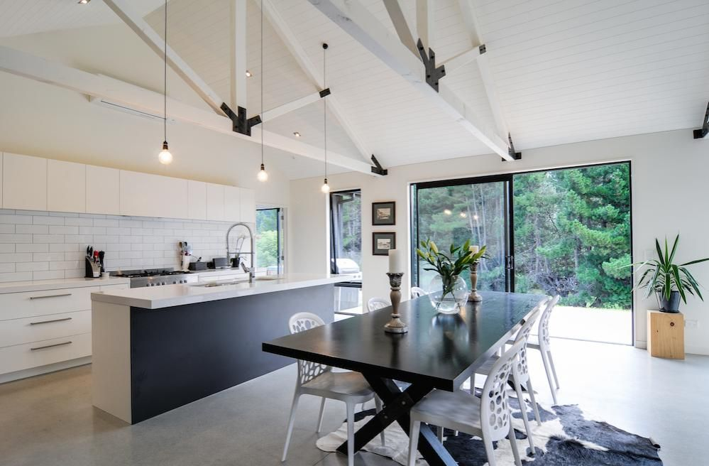 White Kitchen Nz black and white kitchen nz blackandwhite also features a movable