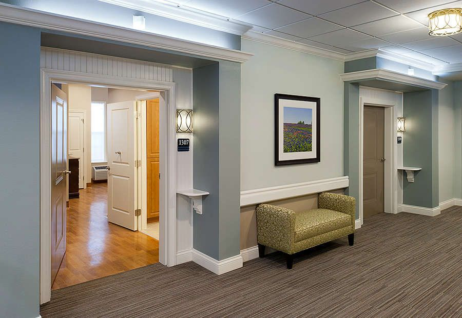 For Interior Design : Senior Living : U003cu003cSenior Living Design  Distinction  Of Room Entrances.