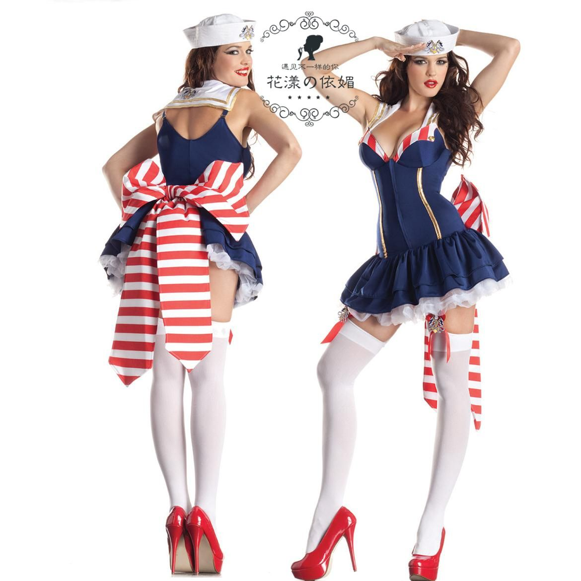 SEXY SAILOR DRESS HALLOWEEN CARNIVAL CHRISTMAS COSPLAY COSTUMES ...