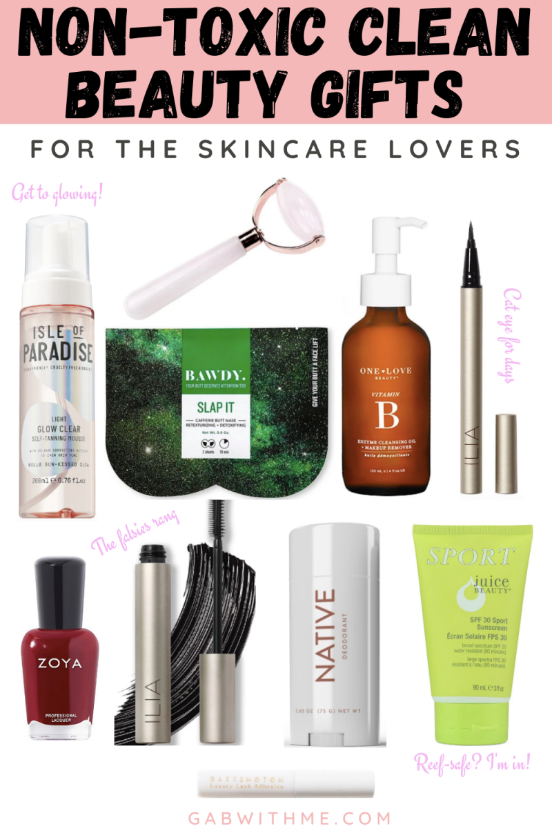 Clean Beauty Gifts 2019: Skincare Lover Edition - Gab With Me