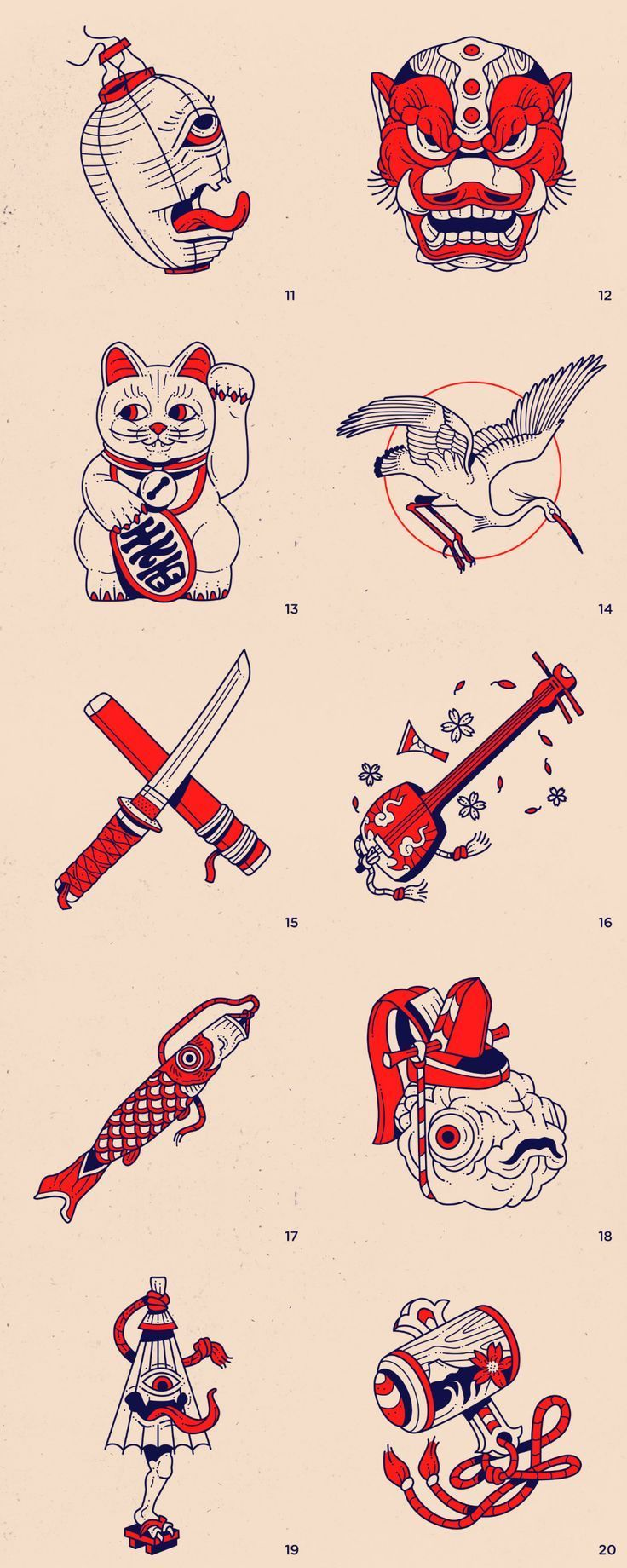 Photo of Tattoo Ink Japan Geometric Tattoos