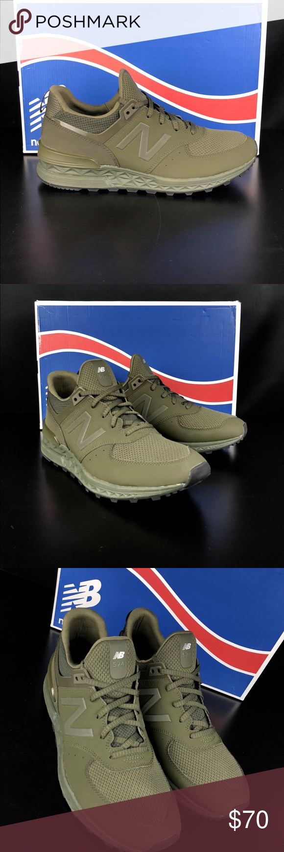 wholesale dealer 553df 44841 New Balance Olive 574S Synthetic Mesh Brand new and with the ...