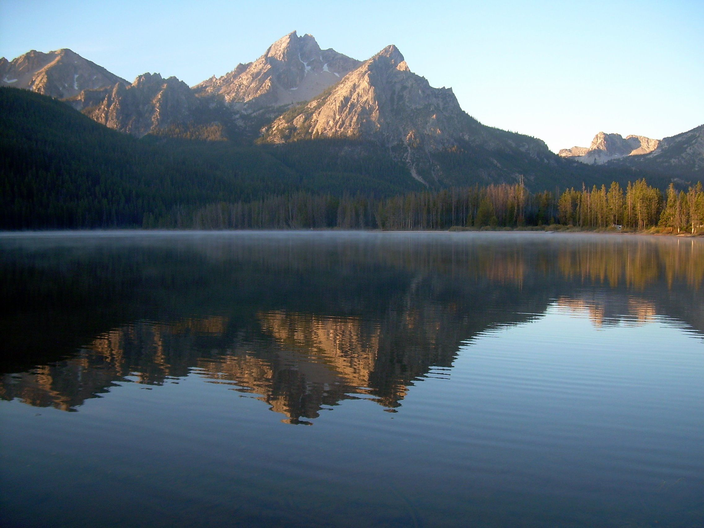 Idahos stanley lake canyon county natural landmarks