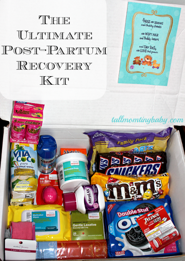 New Mom Is Super Hero Seriously She Just Gave Birth To A Human That Being Said Even Super Her Postpartum Recovery Kit New Mom Gift Basket New Baby Products