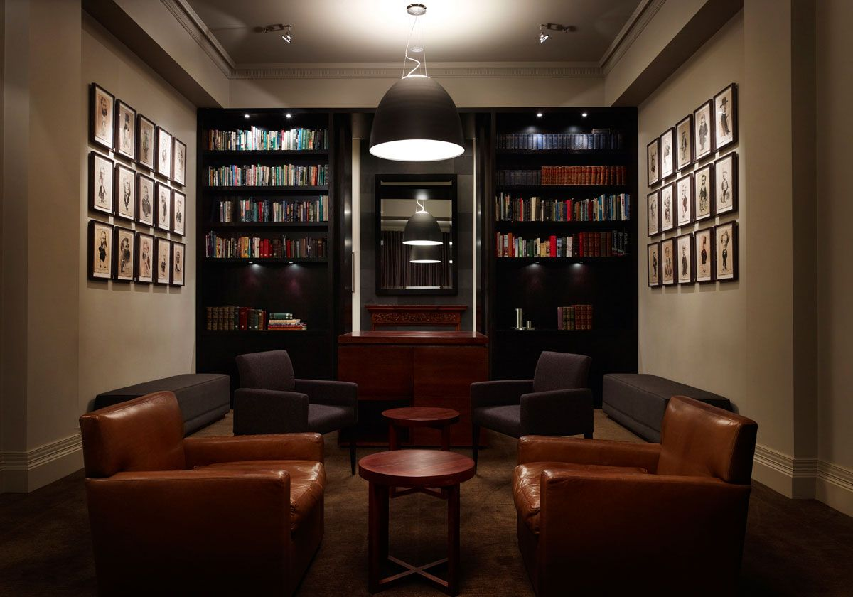 Private Club Melbourne Carr Design Group Working AreaInterior InspirationSocial