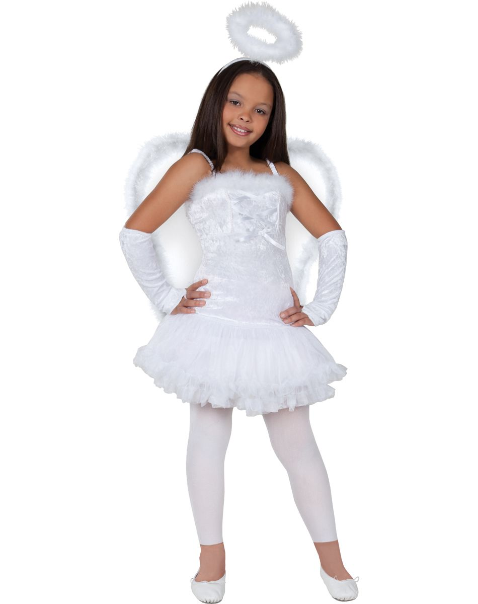 girls angel costume age 12 14 costumes shop by theme - Kids Angel Halloween Costume