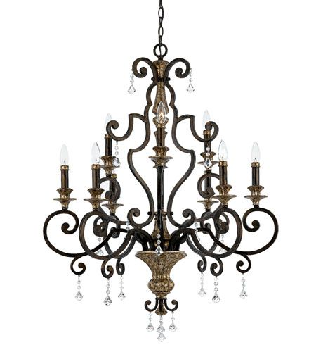 Dining Room Quoizel Lighting Marquette 9 Light Chandelier