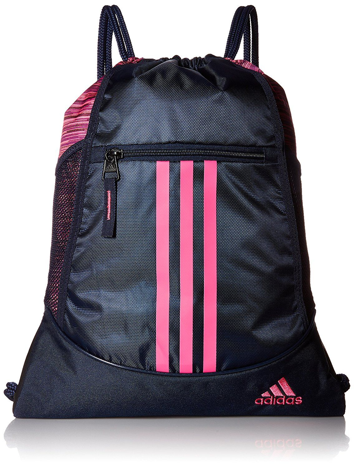 Details About Adidas Alliance Sack Pack Drawstring Gym Bags Unisex