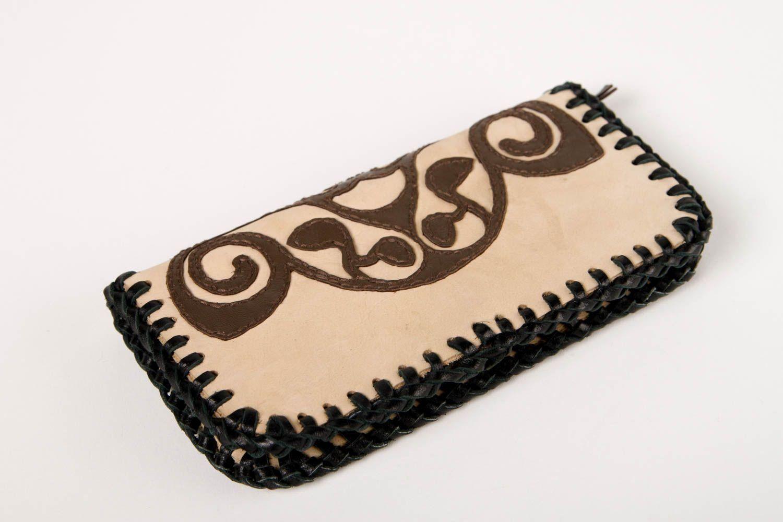 79159e6ff Cartera de cuero artesanal billetera femenina regalo original para mujer:  Amazon.es: Hogar