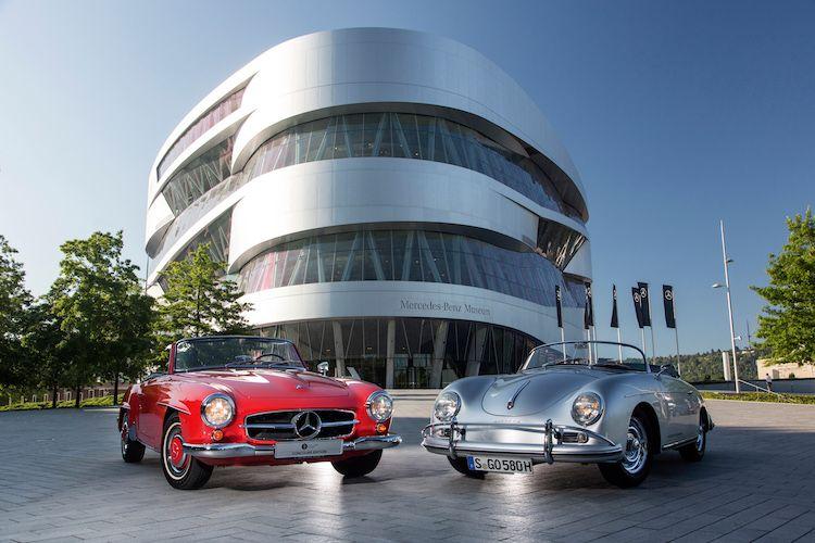 Zo bezoek je voordelig het Porsche- en Merc museum