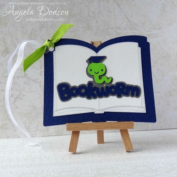 book lovers diy gift tag idea - by Angela Dodson - more info, pics and a how to are over on the Papermilldirect Inspire Blog https://www.papermilldirect.co.uk/inspire/post/project-make-your-own-gift-tags