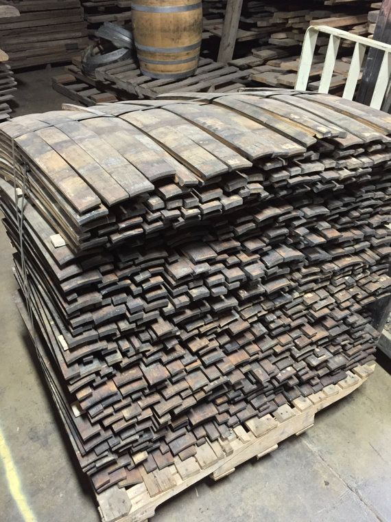 Bourbon Whiskey Barrel Staves 21 Barrel Lot In 2018 Barrels